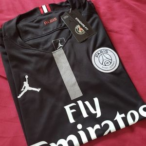 PSG Jersey no Name or number